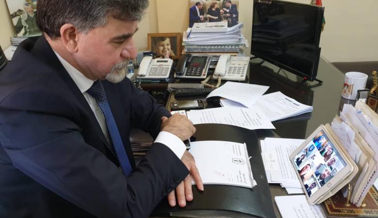 عبد الهادي يؤكد ضرورة استمرار تفعيل مكاتب المقاطعة الإقليمية لاسرائيل في الدول العربية
