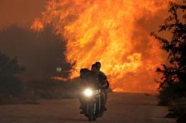 """ارتفاع اعداد ضحايا الحرائق الكارثية في اليونان الى """" 88 """""""