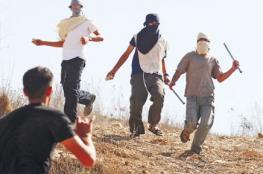 المستوطنون يعتدون على مواطن بالضرب المبرح جنوب نابلس