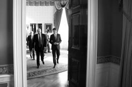 """ترامب وترودو يتفقان على محاربة """"داعش"""" و""""إحلال الاستقرار"""" في الشرق الأوسط"""