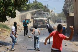 اعتقالات واصابات في مواجهات بالضفة الغربية
