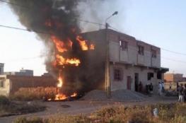 مصرع مسن اثر حريق شب في منزله شمال الخليل