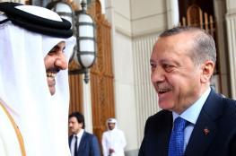 مباحثات بين أمير قطر واردوغان حول الأزمة الخليجية