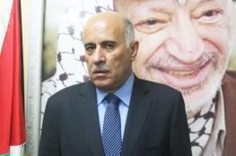 """الرجوب يدين محاولة """"اغتيال حلس ويصفها بالجبانة """" ويحمل حماس المسؤولية"""