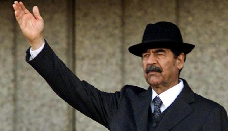 رسالة تهديد من صدام حسين الى ايران