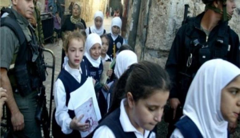 """""""الخارجية"""" تطالب بحشد دولي لمواجهة استهداف الاحتلال لمدارس القدس"""