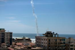 الاحتلال يرصد تجربة صاروخية لحماس