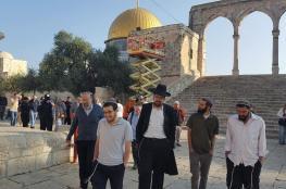 339 مستوطنا اقتحموا المسجد الأقصى  الاسبوع الماضي