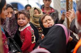 عشرات آلاف المدنيين  مهددون بالخطر غربي الموصل