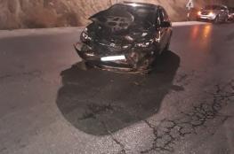 مصرع شاب واصابة 6 آخرين في حادث سير مروع شمال نابلس