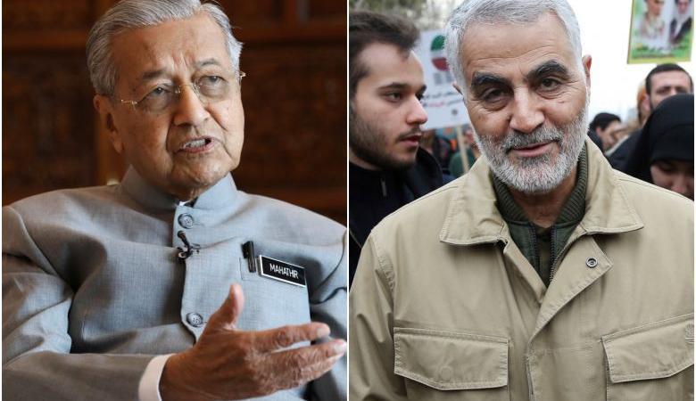 """رئيس الوزراء الماليزي يترحم على صدام ويشبه مقتل """"سليماني """" بجريمة خاشقجي"""