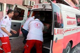 مصرع طفل وإصابة اثنين بحادث سير مروع شمال غزة