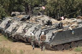 لبنان واسرائيل تحشدان قواتهما العسكرية على الحدود