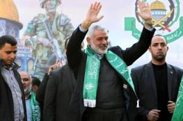 هنية يكشف عن زيارة لإيران ويتحدث عن العلاقة مع سوريا