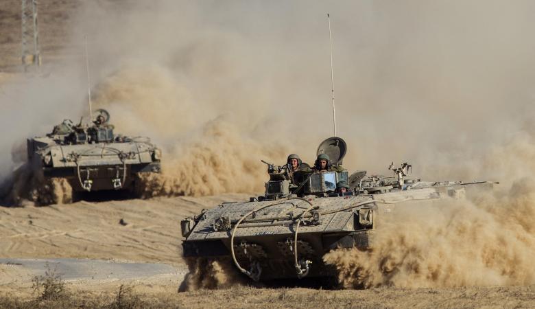قوة عسكرية اسرائيلية تفتح النار على مرصد للمقاومة جنوب غزة