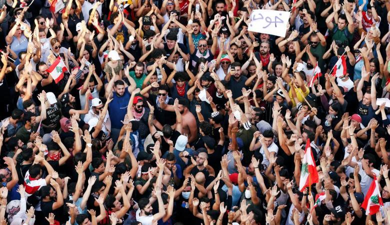 الاحتجاجات في لبنان متواصلة لليوم الخامس على التوالي
