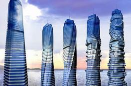 دبي تبهر العالم من جديد ...أول ناطحة سحاب دوارة (شاهد )