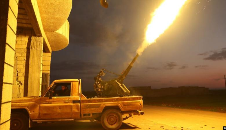 مقتل مدنيين سوريين بقصف روسي على ادلب