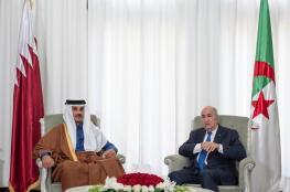 الجزائر : توافق تام مع قطر حول كافة القضايا الاقليمية