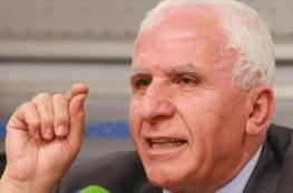 الأحمد: لن نبيع نضال الشعب الفلسطيني بالمال حتى لو قطعت المساعدات
