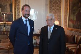الكشف عن نتائج لقاءات الرئيس عباس في النرويج