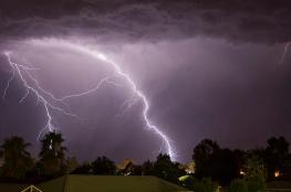 فلسطين على موعد مع امطار مصحوبة بعواصف رعدية