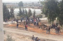 إصابات خلال مواجهات داخل حرم جامعة خضوري في طولكرم
