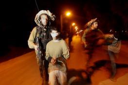 اعتقال 4 مواطنين بمداهمات ليلية فجر اليوم