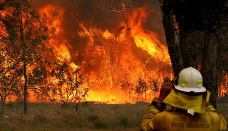 فرق الإطفاء تتمكن من السيطرة على نصف الحرائق المندلعة في إستراليا