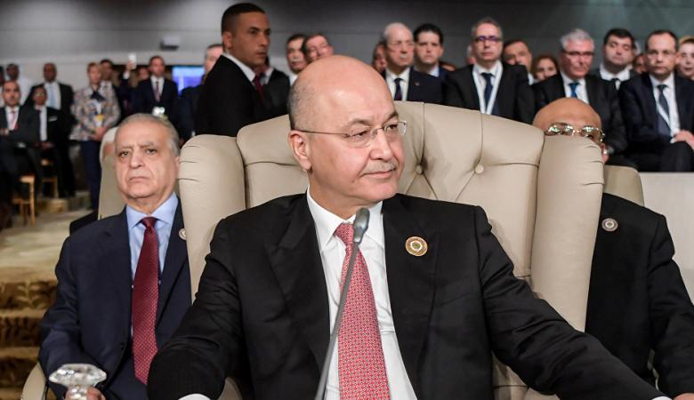 برهوم صالح : العراق لن يكون منطلقاً لأي اعتداء على اي دولة
