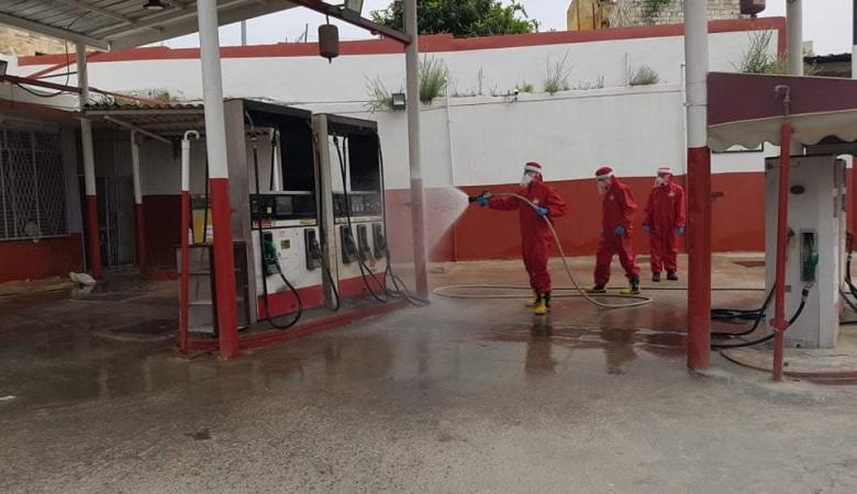 الدفاع المدني يؤكد ضرورة تعقيم محطات الغاز ومركبات الموزعين والاسطوانات