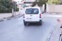 رام الله : القبض عل سائق مركبة عرض حياة صحفية للخطر