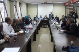 رؤساء واعضاء بلديات جنين وطولكرم الجدد يتسلمون مناصبهم تنفيذاً لقرار مجلس الوزراء
