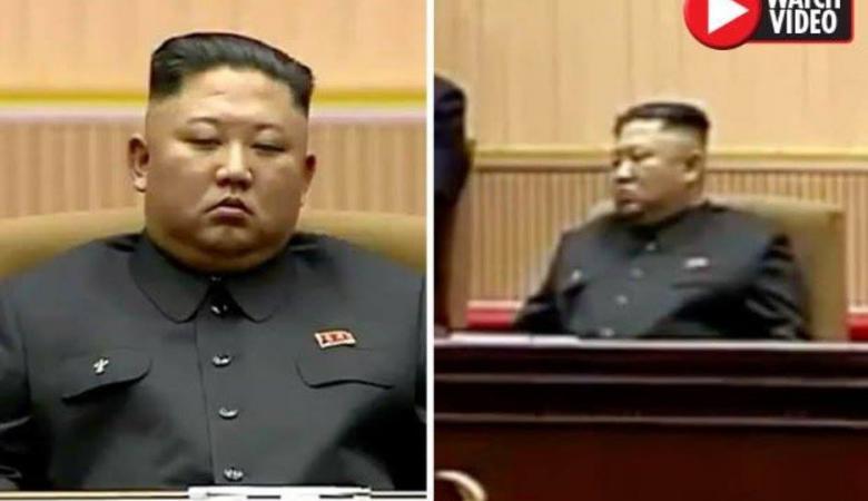 """الزعيم الكوري """"يغط في النوم"""" خلال جلسة البرلمان"""