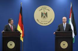 الحمد الله يطالب ألمانيا بالضغط على إسرائيل للاستجابة لمطالب الأسرى