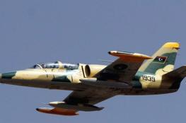 طائرات حفتر تستهدف مواقع للجيش الليبي جنوب طرابلس