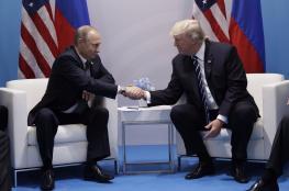 """ترامب يصف لقائه الاول مع بوتين """"بالرائع """""""