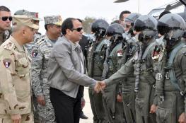 السيسي: الجيش المصري من أقوى الجيوش في المنطقة