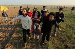 6 إصابات بالرصاص الحي وآخرون بالاختناق بمواجهات شرق غزة
