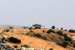 توغل اسرائيلي واطلاق نار جنوب وشمال قطاع غزة