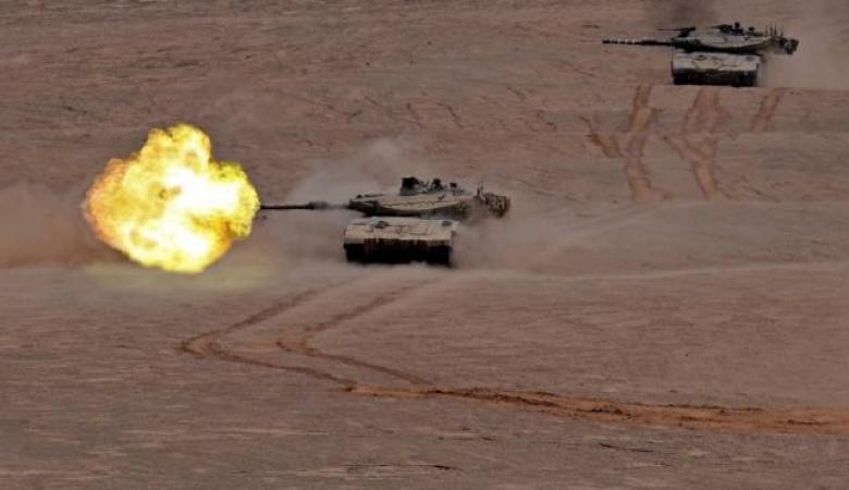 مدفعية الاحتلال تستهدف نقطتين للمقاومة شمال غزة