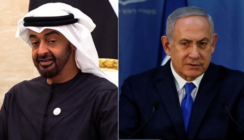 "نتنياهو يجري مباحثات مع ولي عهد ابو ظبي "" محمد بن زايد """