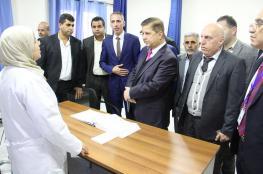 وزير الصحة يقرر إنشاء مركز للطوارئ في قرية نعلين غرب رام الله