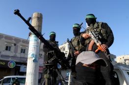 اسقاط طائرة تصوير اسرائيلية وسط قطاع غزة