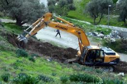 القدس: الاحتلال يقرر مصادرة أرض ملكية خاصة في بلدة سلوان