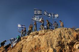 خطة اسرائيلية لتسكين مليون مستوطن في الضفة الغربية