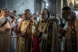 لأول مرة منذ عامين ونصف ..اقامة قداس العيد في كنيسة بالموصل بعد طرد داعش