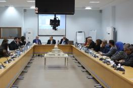 العسيلي يدعو مجموعة الدول المانحة إلى دعم رؤية الحكومة الاقتصادية