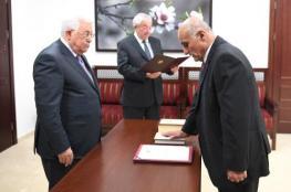 """رئيس واعضاء المحكمة الحركية لحركة """"فتح"""" يؤدون اليمين القانونية امام الرئيس"""