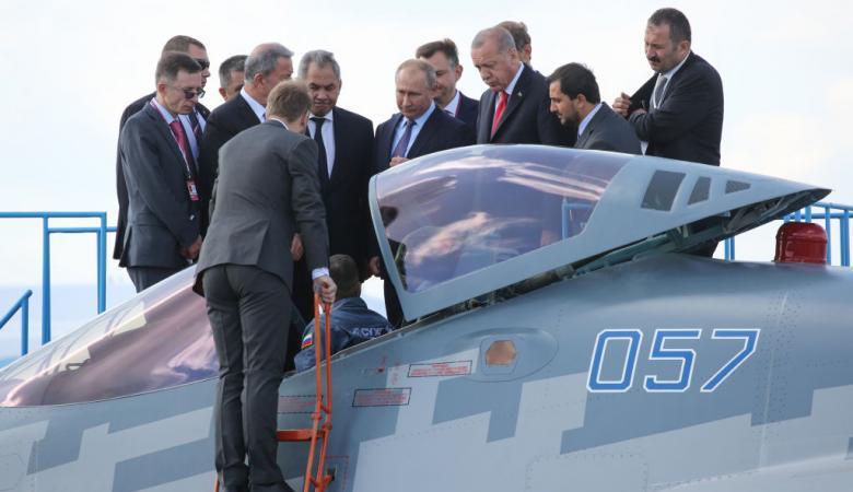 تركيا تتفاوض مع روسيا لتزويدها بمقاتلات Su-35 أو Su-57